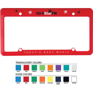 Promotional License Frames-1200A