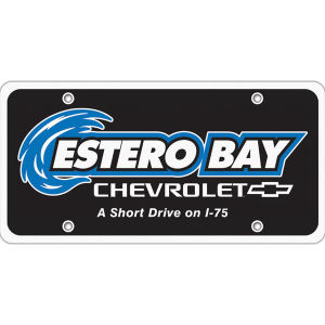 Ad Specialty License Plate Insert