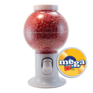 Promotional Food/Beverage Dispensers-GM06-RED HOTS