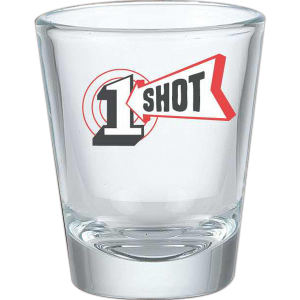 1.5 oz shot glass.
