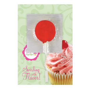 Promotional Greeting Cards-LOLLIPOP-CARD