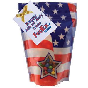 Large patriotic window bag