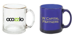 Promotional Glass Mugs-COFFEE-MUG-J36