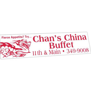 Promotional Bumper Stickers-412