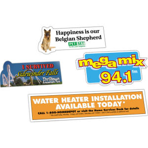 Promotional Bumper Stickers-409