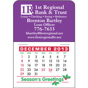 Promotional Magnetic Calendars-4777