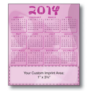Promotional Magnetic Calendars-MAGNET-21121