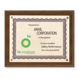 Promotional Certificates & Holders-CHA