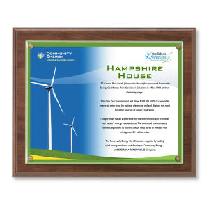 Promotional Certificates & Holders-CHB