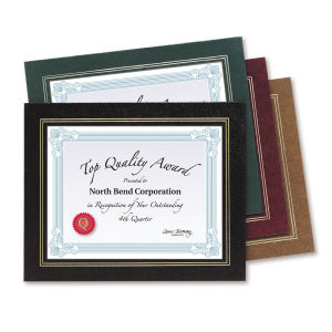 Promotional Certificates & Holders-CHD