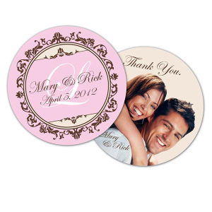 Full Color Wedding Coaster