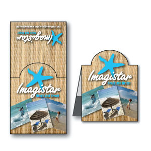 Magnetic bookmark, 1 5/8