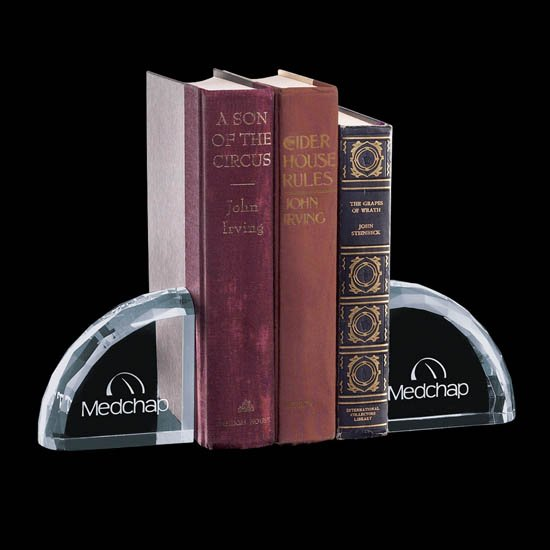 Ridgemount bookends made of