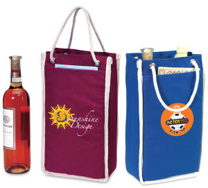 Promotional Wine Holders-WINE TOTE E118