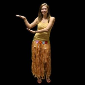 Adult economy hula skirt,