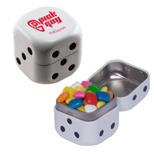 Promotional Dental Products-DICE-TIN-GUM