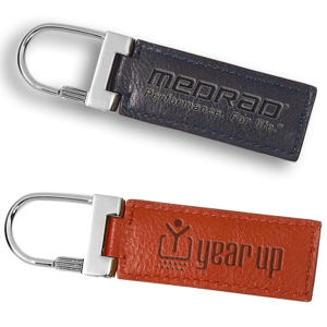Promotional Leather Key Tags-LG-9078