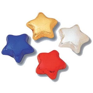 Promotional Party Favors-Foiled Stars