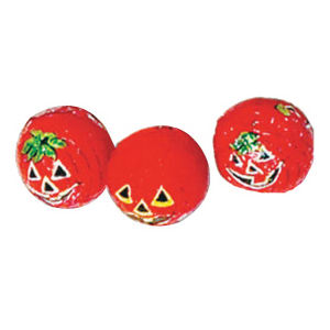 Custom Imprinted Jack-O-Lanern Candies