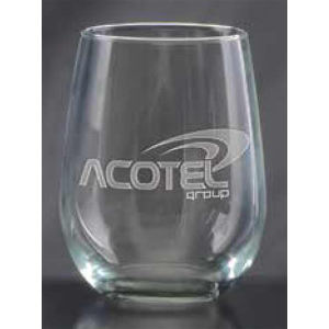 17 oz stemless white