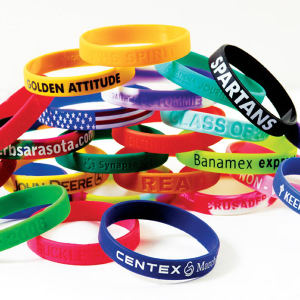 Awareness bracelet - debossed