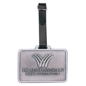 Golf metal bag tag
