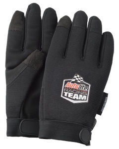 Touchscreen mechanics gloves, black