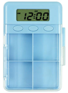Ad Specialty Pill Box with Timer