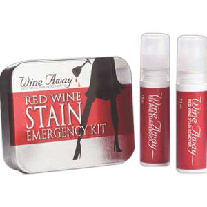 Red wine stain emergency