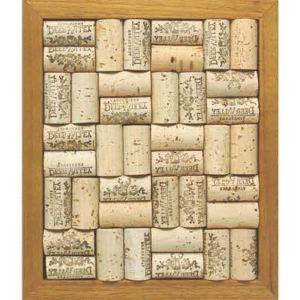 Cork trivet set with