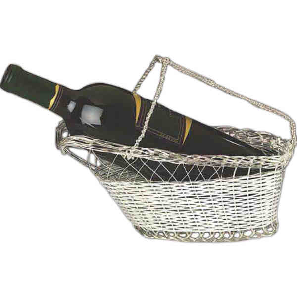 Wine bottle cradle. Blank.
