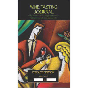 Wine tasting journal with