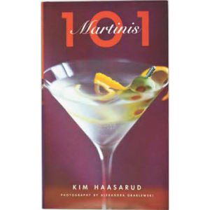 Martinis book by Kim