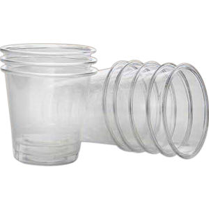 Disposable shot glasses, 2