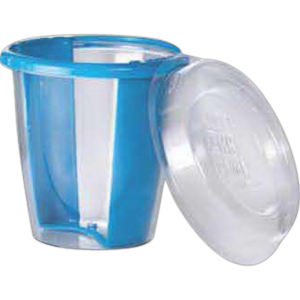 Gelatin shot glass lid,