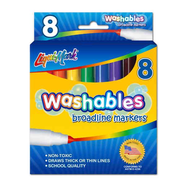 8 Pack Washable Broadline