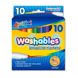 10 Pack Washable Broadline
