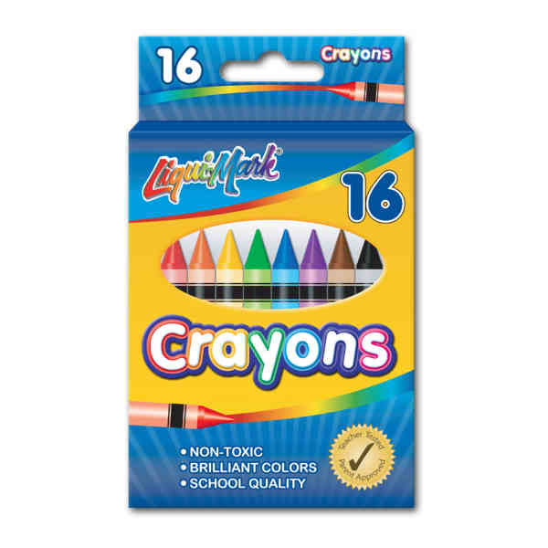 16 Pack Crayons -
