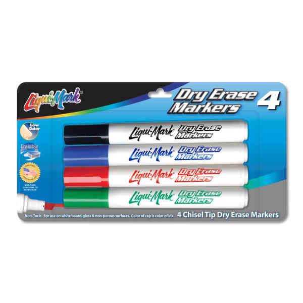 4 Pack Dry Erase