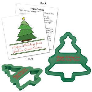 Tree shape cookie cutter