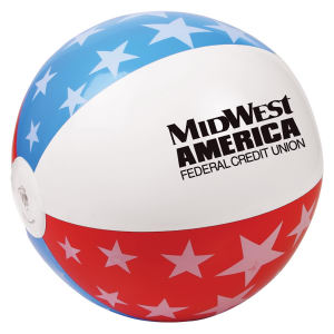 USA beach ball, 16