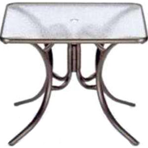 Obscure acrylic dining table,