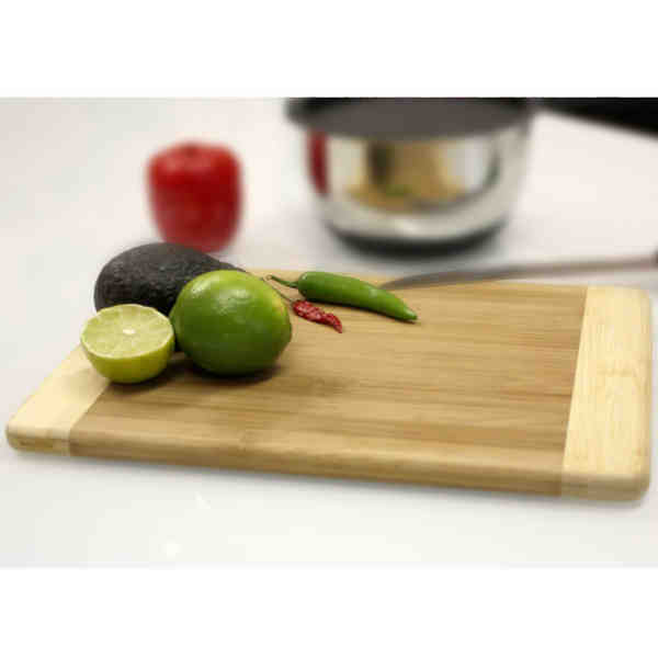 Bamboo cutting board. Large