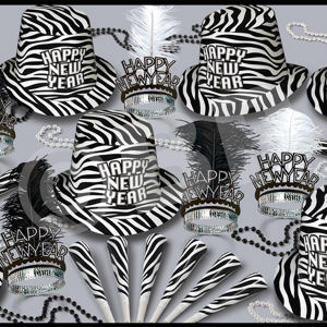 Zebra print New Year's