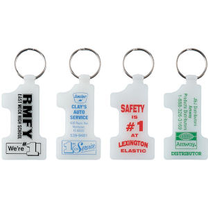 Promotional Vinyl Key Tags-N-340