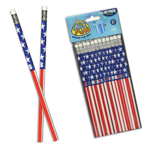 American flag pencils, priced