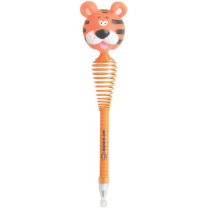 Tiger head topped pen