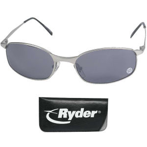 Wraparound sunglasses with matte