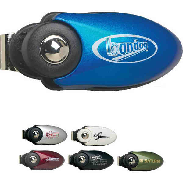 Car visor eyeglass clip
