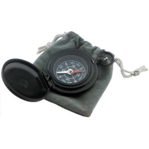 Deluxe pocket compass in